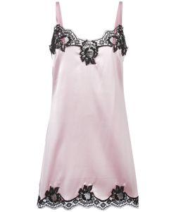 Dolce & Gabbana   Lace Trim Camisole 2 Silk/Cotton/Polyamide/Spandex/Elastane