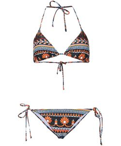 Mary Katrantzou | Bluebird Print Triangle Bikini