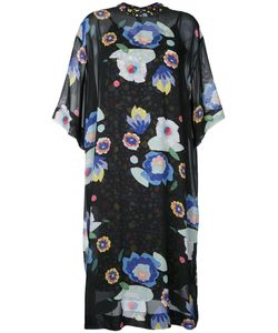 G.V.G.V.   G.V.G.V. Print Chiffon Tee Dress