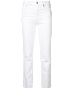 Ag Jeans | Isabelle High-Rise Straight Crop Jeans 30