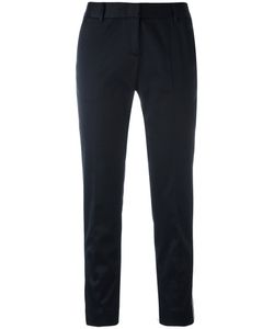 Tonello | Side Piping Cropped Trousers Size 42