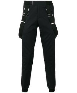 Les Hommes | Brace Detail Trousers 48 Cotton/Spandex/Elastane