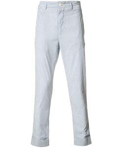 Engineered Garments | Seersucker Pinstripe Trousers Size 30