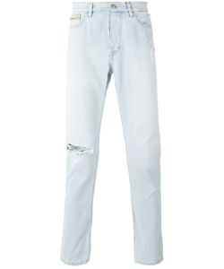 Calvin Klein Jeans | Distressed Slim-Fit Jeans