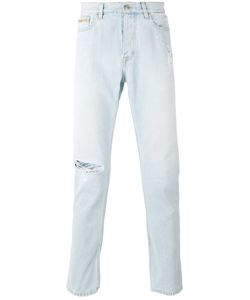 Calvin Klein Jeans | Distressed Slim-Fit Jeans