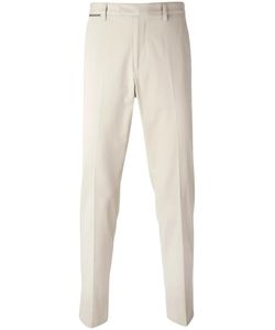 Salvatore Ferragamo | Raised Seam Trousers 48 Cotton/Spandex/Elastane
