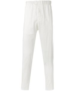 Ann Demeulemeester Grise | Creased Effect Trousers Size Small