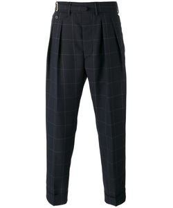 Lardini | Cropped Tailored Trousers 46
