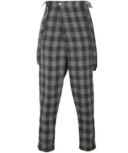 Transit | Plaid Slouch Trousers Xs
