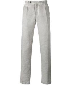Massimo Alba | Faded Straight-Leg Trousers Size 52