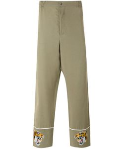 Laneus | Embroidered Tiger Trousers 48
