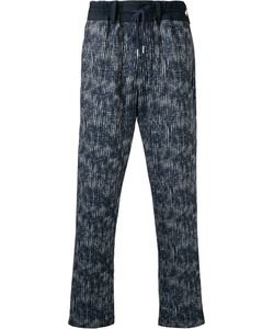 Casely-Hayford | Abstract Print Drawstring Trousers Men