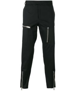 Les Hommes | Multiple Zips Cropped Trousers Size