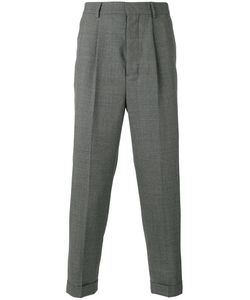 AMI Alexandre Mattiussi | High-Waisted Pleated Trousers Size 36
