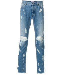Palm Angels | Distressed Jeans 32