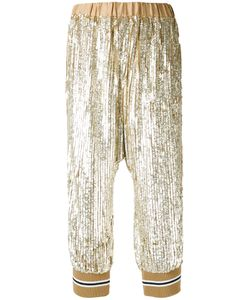 Twin-Set   Sequin Embellished Cropped Trousers