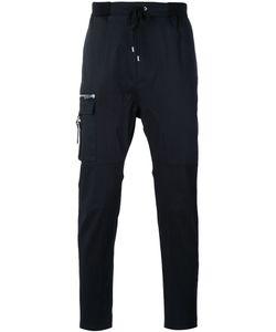 Les Hommes Urban | Slim Zip Pocket Trousers Men