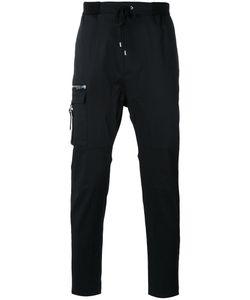 Les Hommes Urban | Slim Zip Pocket Trousers
