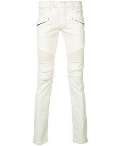 Balmain   Skinny Biker Jeans 33