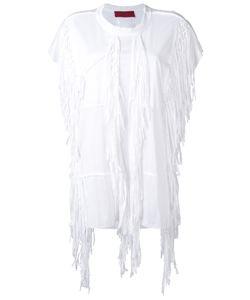 Di Liborio | Fringed T-Shirt 38