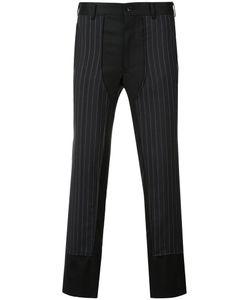 Comme Des Garçons Homme Plus | Pinstripe Panel Trousers