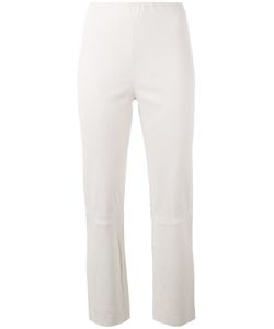 By Malene Birger | Florentina Cropped Trousers Size 40 Lamb