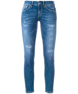 Dondup | Distressed Cropped Skinny Jeans