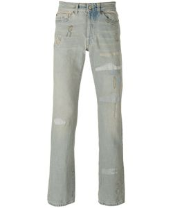 Htc Hollywood Trading Company | Distressed Straight Cut Jeans Size 29