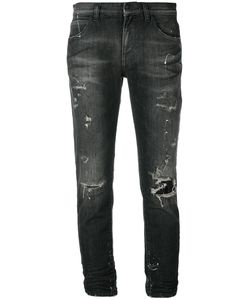 Faith Connexion | Distressed Cropped Jeans