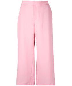 Le Ciel Bleu | Georgette Back Pleats Trousers Women