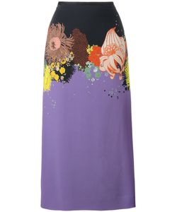 Dries Van Noten | Selma Long Print Skirt Size 34