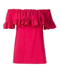 Hache   Ruffled Blouse Size 42