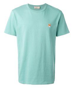 Maison Kitsuné | Embroidered Fox T-Shirt Size Medium