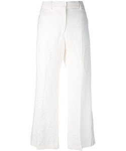 Calvin Klein Collection   Wide Leg Cropped Trousers