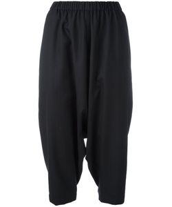 Comme Des Garçons Comme Des Garçons | Cropped Drop-Crotch Trousers