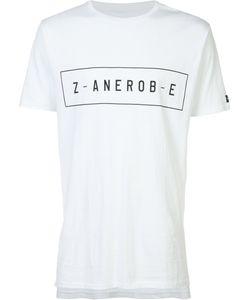 Zanerobe   Logo Print T-Shirt Size Small