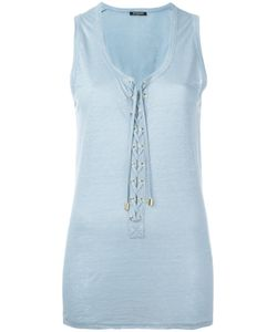 Balmain | Lace-Up Vest Top Size 36