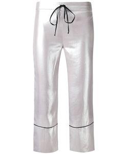 L'Autre Chose | High Shine Cropped Pants