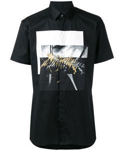 Les Hommes | Shortsleeved Printed Shirt