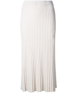 Le Ciel Bleu | Knitted Pleated Skirt 36 Polyester/Rayon