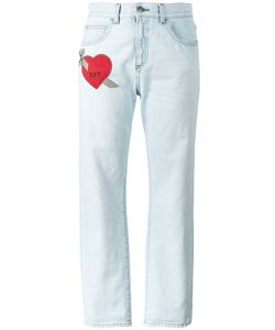 Gucci | Embroidered Heart Jeans 29