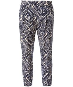 Steffen Schraut | Aztec Print Trousers Size 42