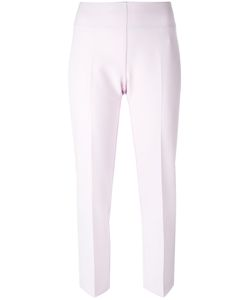 Blumarine   Pleat Detail Cropped Trousers Size 42