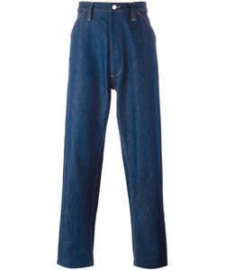 E. Tautz | Chore Wide Leg Jeans 34 Cotton