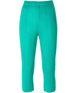 Pleats Please By Issey Miyake | Pleated Cropped Trousers 2