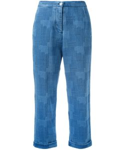 YMC | Patterned Jeans 10 Cotton