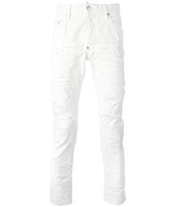 DSquared² | Skater Stitched Patchwork Jeans 44 Cotton/Spandex/Elastane