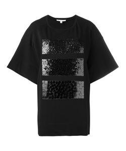 Io Ivana Omazic | Embellished Sequin T-Shirt Size Large