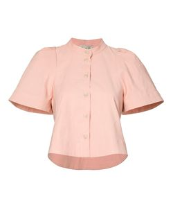 Sea | Buttoned Cropped Blouse Size