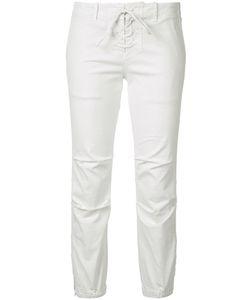 Nili Lotan   Lace-Up Elastic Cuff Pants